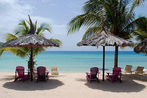Caribbean Beach, Caribbean Sea, Tropical Beach, Beach