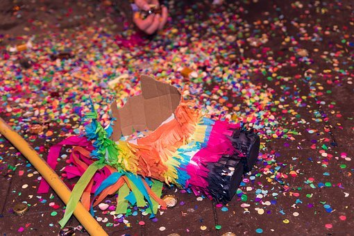Piñata, Party, Celebration, Birthday, Play, Wedding