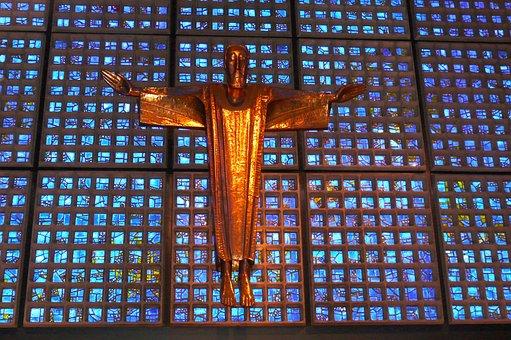 Cross, Crucifix, Gedächtniskirche, Jesus, Religion