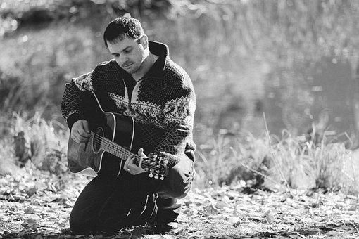Man, Men, Guitar, Music, Bobby Mcintyre, Rock Music