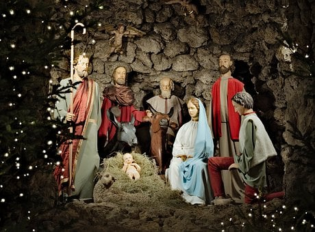Crib, Dominicans, Christmas, Holidays, The Holy Family