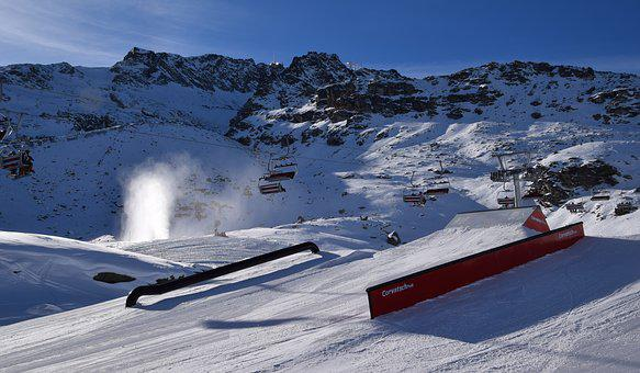Snow Park, Mountain, Mountain Resort, Ski Resort, Snow