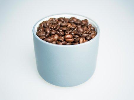 Coffee, Beans, Cup, Mug, Porcelain, Coffee Bean, Drink