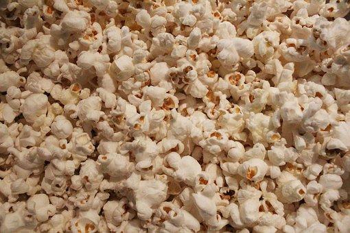 Popcorn, Food, Snack, Meal, Corn, Pop, Hot, Eat, Junk