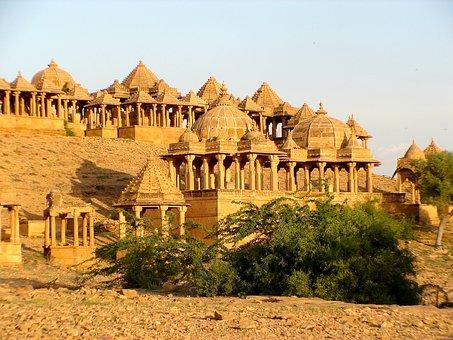 Bada Bagh, Jaisalmer, India, Rajastan, Travel