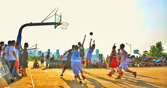 U League, Basketball, Sports, Game, Play, School