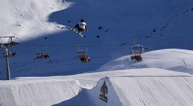 Riders, Snowboarder, Snowboard, Snowboarding, Snow Park
