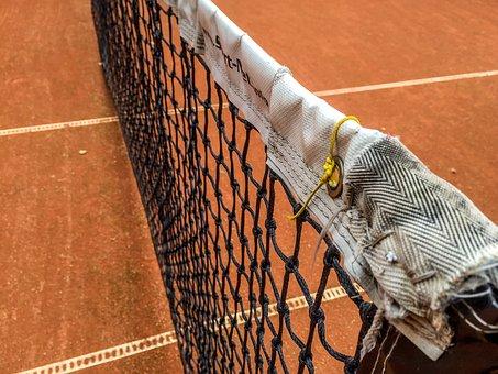 Tennis, Net, Court, Sport, Stadium, Field, Recreation