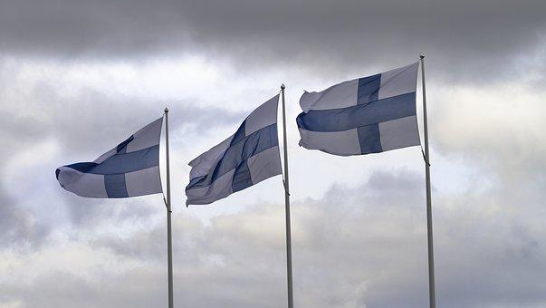 Tickets, Flag, Flag Of Finland, Flagpole, Flag Lever