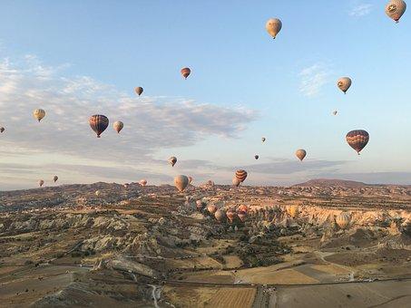Turkey, Cappadocia, Mountain, Valley, Nature, Travel