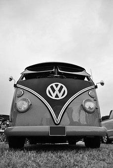 Vw Camper, Vintage Car, Car, Camper, Vintage, Vw
