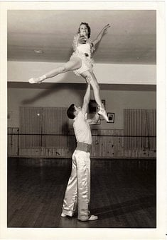 Vintage, Acrobatics, Dance, Costumes, Studio, Adagio