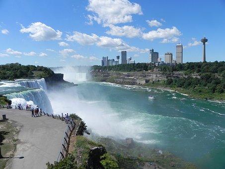 Niagara, Landscape, Falls, Ontario, Canada, New York