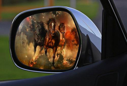 Assembly, Rearview Mirror, Car Mirror, Side Mirror, Car