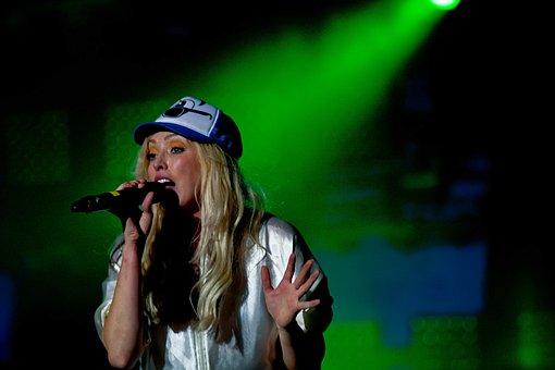 Concert, Live, Singer, Female Singer, The Ting Tings