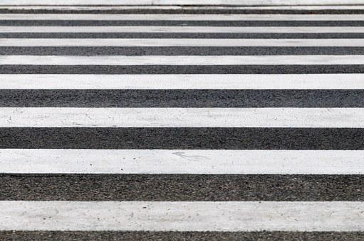 Zebra, Crossings, Road, Striped, Black, White, Line