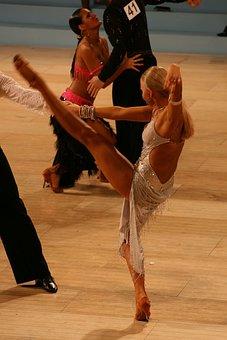 Ballroom, Latin, Dance, Couple, Dancer, Man, Woman
