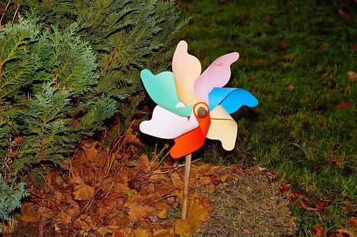 Garden, Plastic, Pinwheel, Object, Dynamics, Color