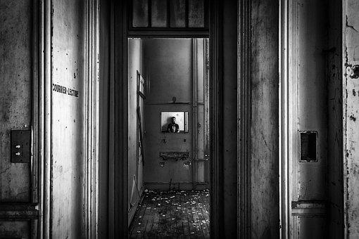 Lost Places, Mirror, Image, Pforphoto, Gloomy, Empty