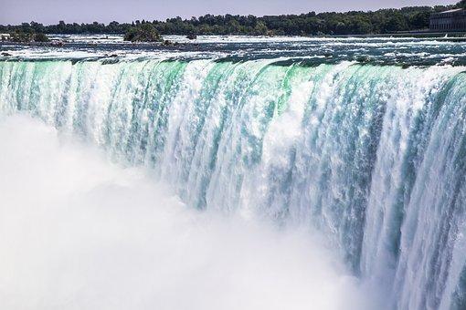 Niagara, Falls, Waterfall, Canada, American, Landmark