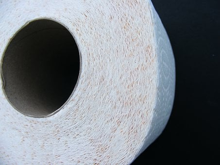 Toilet Paper, Toilet, Paper, Bathroom, Hygiene, Roll