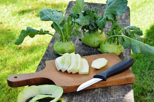 Chinese Cabbage ' Kohlrabi, Kalarepka, Green