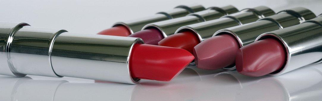 Lipstick, Cosmetics, Lips, Make Up, Kiss Mouth, Red