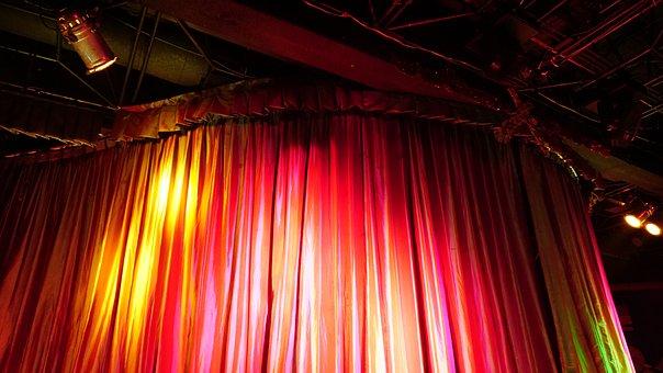 Light, Stage, Close, Performance, Entertainment, Music