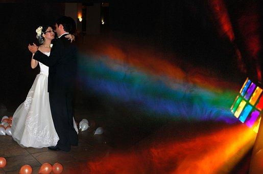 Wedding, Bride, Groom, Woman, Marriage, Dress, Love