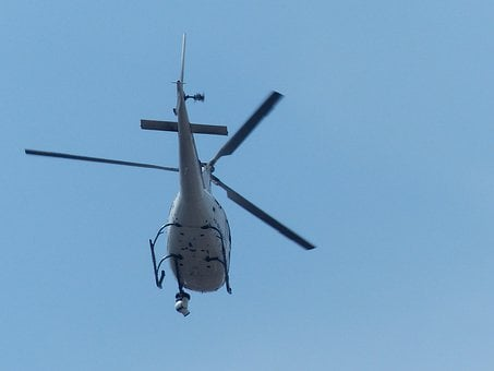 Helicopter, Monitoring, Surveillance Camera