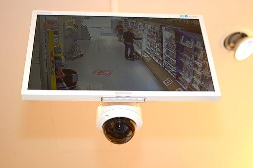 Camera, Monitoring, Surveillance Camera, Security
