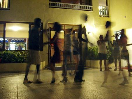 Dance, Rhythm, Salsa, Movement, Couples, Human, Party