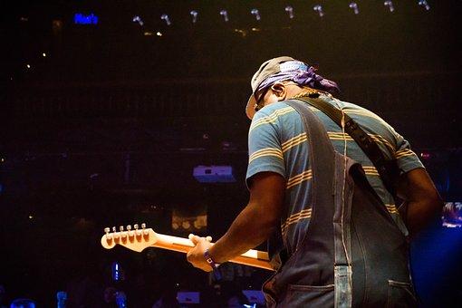 Guitar Player, Live Music, Rock, Guitar, Music, Player