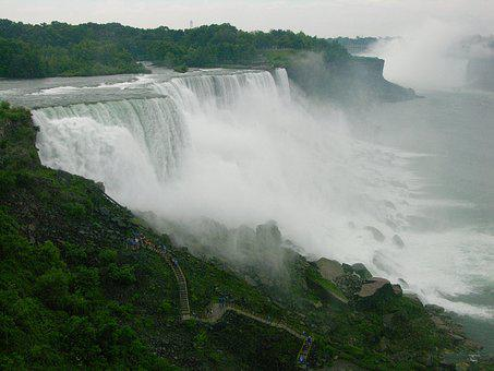 Niagara, Waterfall, Nature, Landmark, American, Tourism