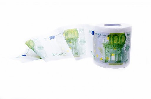 Paper, Toilet, Idea, Euro, Fresh, Hygienic, Isolated
