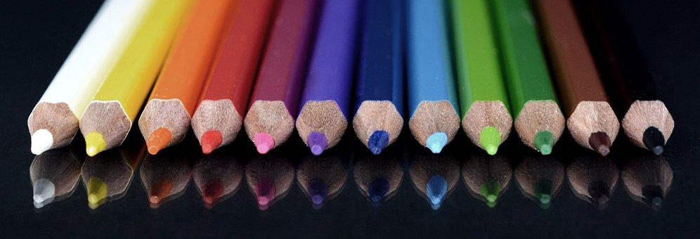Colour Pencils, Paint, Colored Pencils, Pens, Crayons