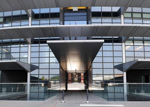 European Parliament, Input, Rotunda, Passage, Courtyard