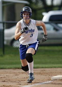 Softball, Player, Female, Runner, Scoring