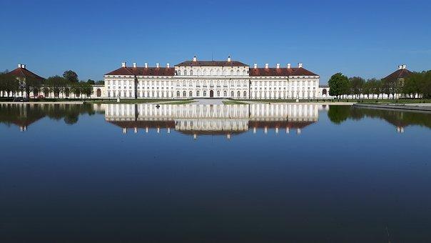 Schleissheim Palace, Castle, Architecture, Park