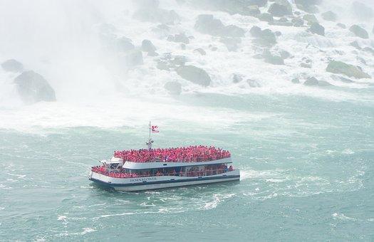 Ship, Boat, Tourism, Tour Boat, Tourists, Mist, Water