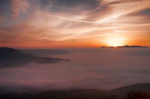 Sea Of Clouds, Aso, Cloud, Kumamoto, Japan, Somma, Sky