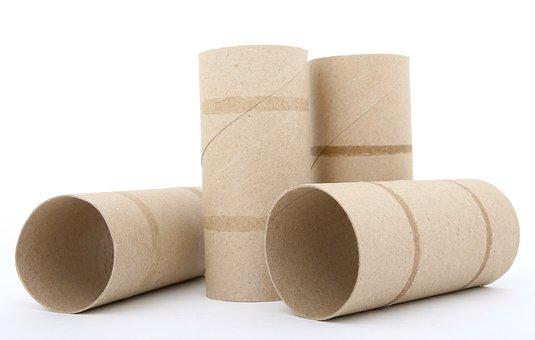 Roll, Sanitary, Tissue, Toiletries, Empty, Toilet Roll