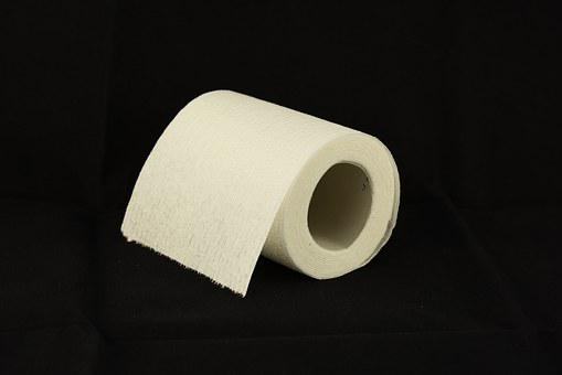 Toilet Paper, Toilet Roll, Tissue, Bathroom, Toilet