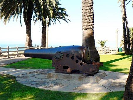 Usa, Los Angeles, Canon, Beach, Santa Monica