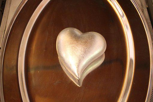 Heart, Love, Silver, Mirror, Together, Valentine's Day
