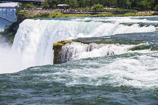 Niagara Falls, Water, Fall, Canada, River, Waterfall