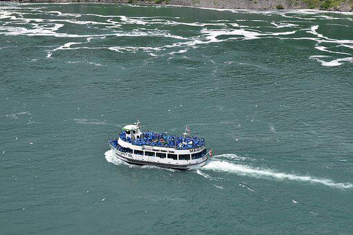 Maid Of The Mist, Niagara Falls State Park, Waterfall