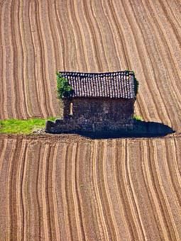 Hut, Abandoned, Wooden, Shed, Lonesome, Farming, Empty