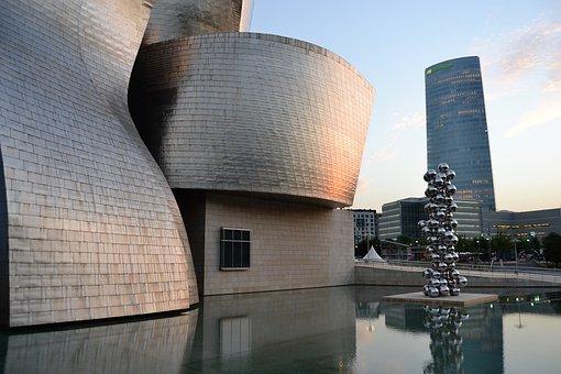 Architecture, Bilbao, Guggenheim, Cities