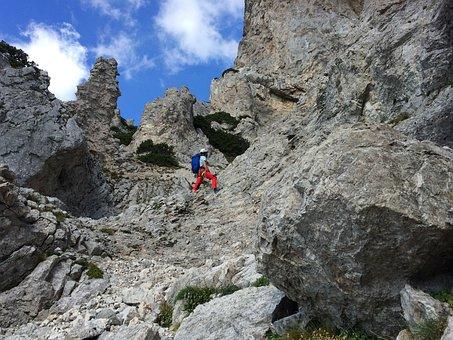 Austria, Hollental, Mountains, Climbing, Rock, Rocks